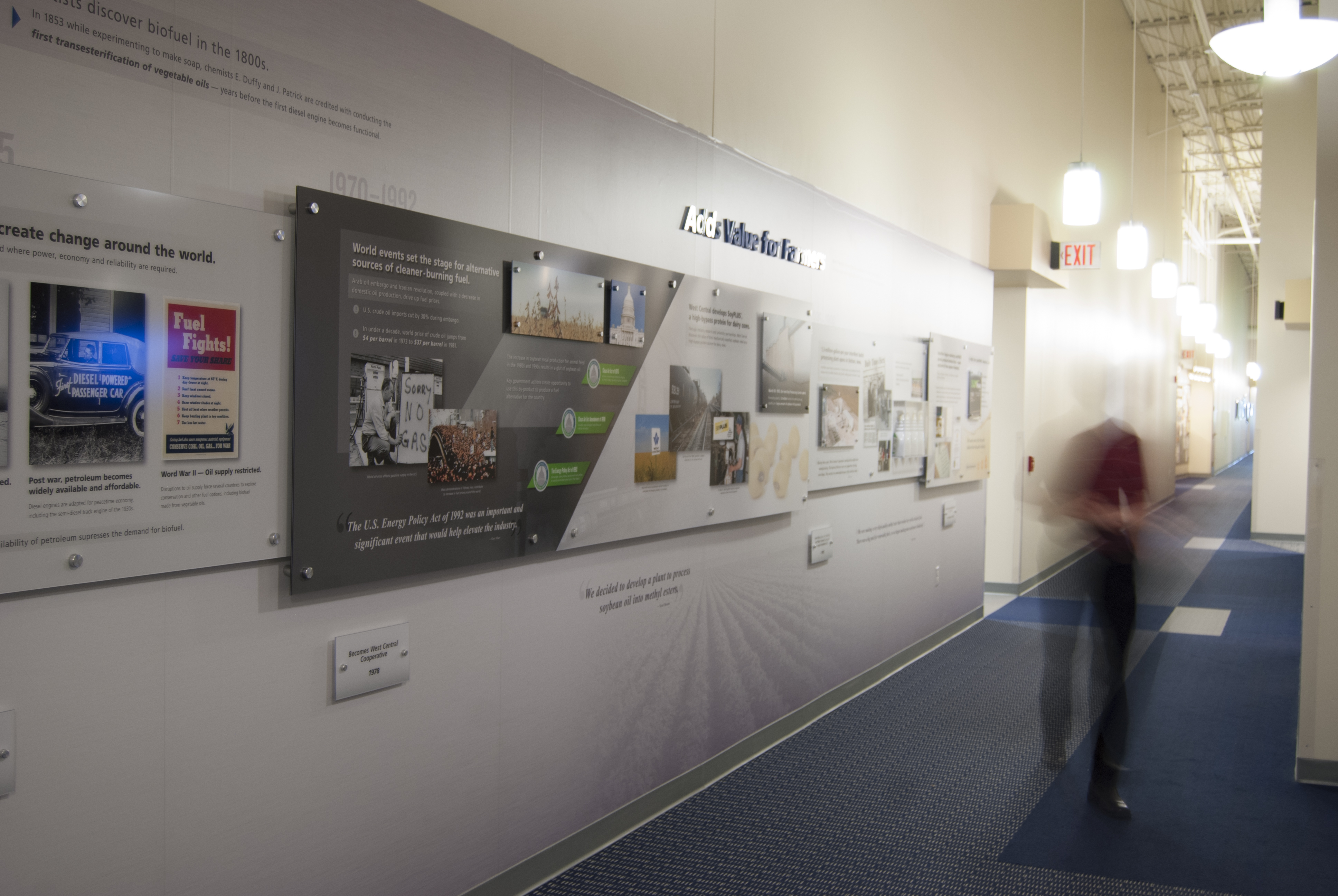 Corporate History Walls Artmill Group