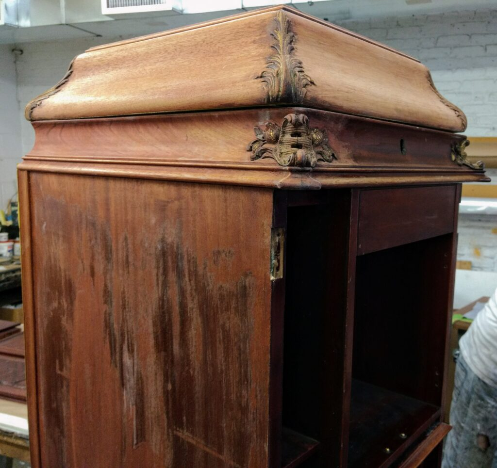 Diamond In The Rough Antique Victrola Refinishing
